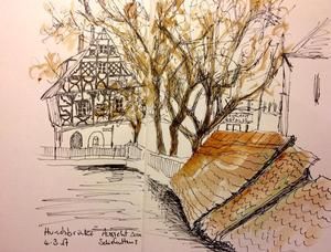 """""""Urban Sketchers Forchheim"""""""