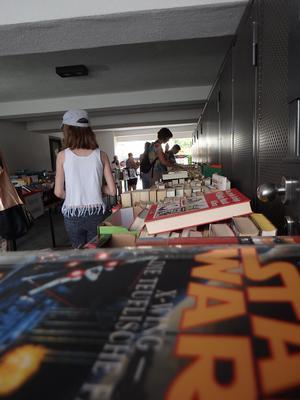 Büchereifest mit Bücherflohmarkt